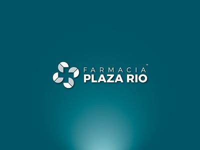 Farmacia Plaza Río branding brand logotype logo farmacia plaza rio plaza rio rio plaza pharmacy farmacia