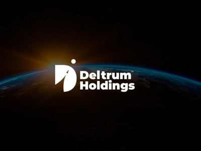 Deltrum Holdings branding brand logotype logo space deltrum holdings holdings deltrum