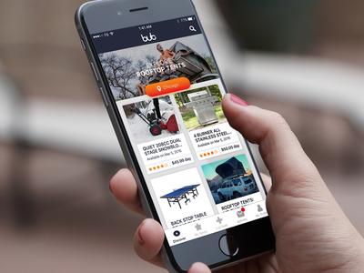 BUB - Home Screen design ux ios home redesign