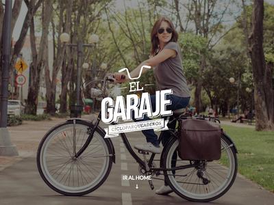 El Garaje / Mapa de Biciparqueaderos parqueaderos mapa bici bicicleta el garaje