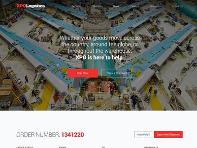 XPOLogistics Traking redesign logistics xpo
