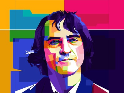 Joaquin Phoenix in wpap happy businessman talking client person phone operator headset technology call man help communication computer support office people business customer service