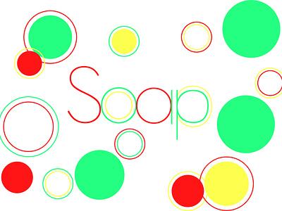 soap illustration minimal illustration design typography vector illustrator flat