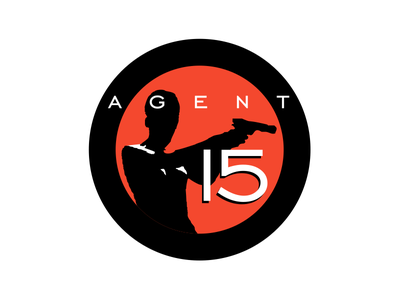 Agent 15 mark illustration design branding brand badcat logo
