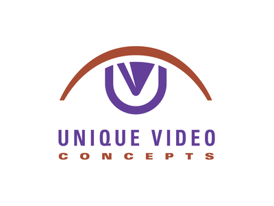 Unique Video Concepts brand branding illustration badcat logo