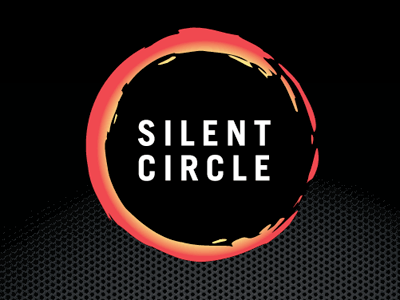 Silent Circle Logo logo mark circle privacy badcat red black