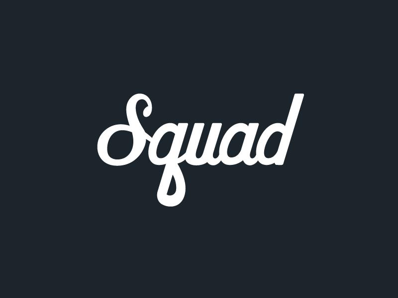 squad logo by javon greaves dribbble dribbble