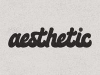 Aesthetic Lettering