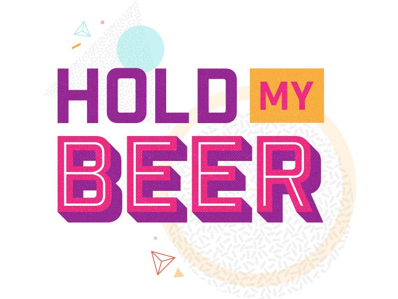 Hold My Beer swizl stickerpack beer alcohol swizllife
