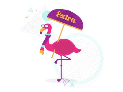 Extra Flamingo