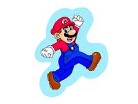 Mario iPad Pro Adobe Draw
