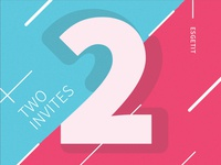 Two Dribbble Invites Ready
