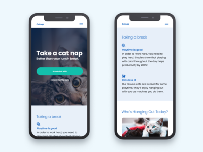 Catnap: Morning UI