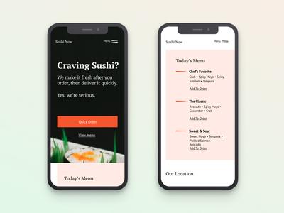 Sushi | Morning UI