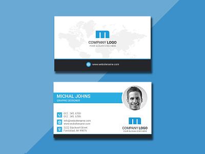 Business Card portrait brand id card design id card brand identity branding card design card businesscard creative corporate card person shape marketing elegant corporate