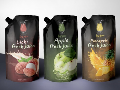 juice packaging liquid illustration graphic design coffee caramel brand strategy branding brand identity food pouchbag design design product label drink label