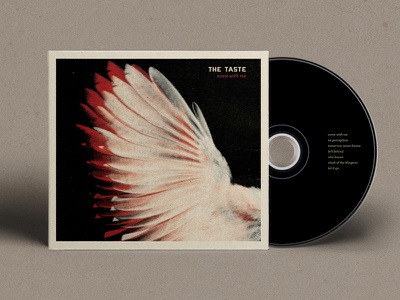 The Taste - Come with me cd cover sleeve digipack