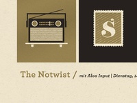 Notwist Gig Poster