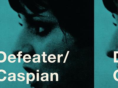 Defeater Caspian Tour Poster obrother poster tour tourposter defeater caspian