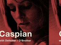 Caspian Defeater Tour Poster