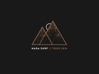 Nada Surf Tour 2016 Design
