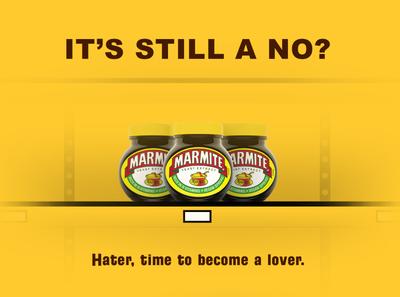 Concept ad - Marmite