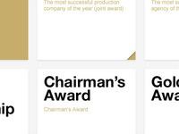Awards Website