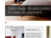 Climate control website