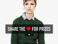 Share The ♥ For Prizes