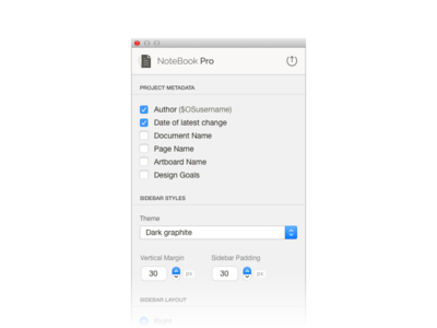 Notebook Pro Ui notebook sketchapp plugin mac os ui sketchapp