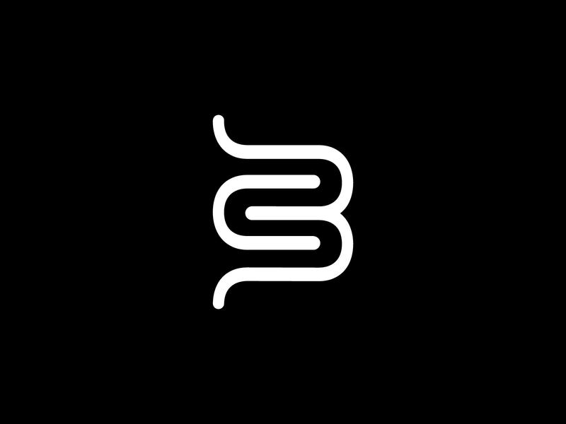 Beer Three logo branding agency design art illustration curve balck and white clean logo b3 logo awesome logos logomark logo mark vector adobe illustrator logo designer brand designer brand design brand logodesign logo