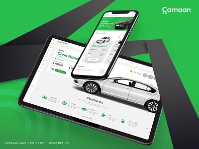 Carnaan   SaaS Application design   Ui / UX mobile application webapplication application design ux ui saas