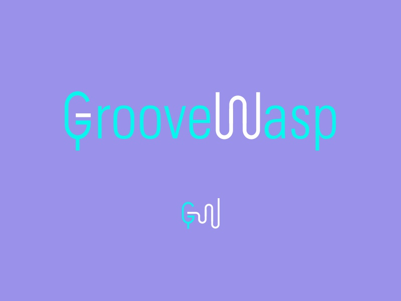 Groovewasp waves mike wasp groove brandom week typehue logo