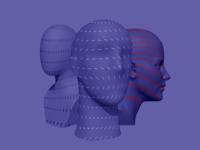 Transformation identity violet heads