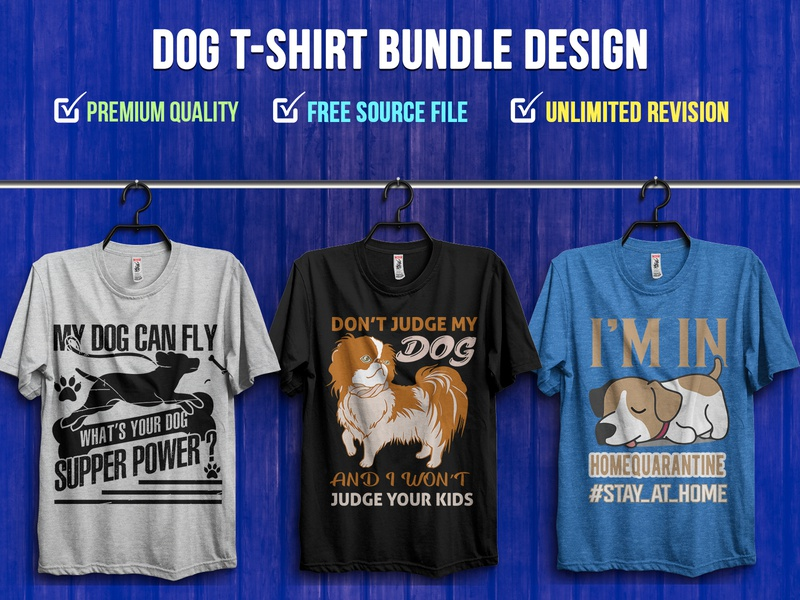 Dog T-Shirt Bundle Design