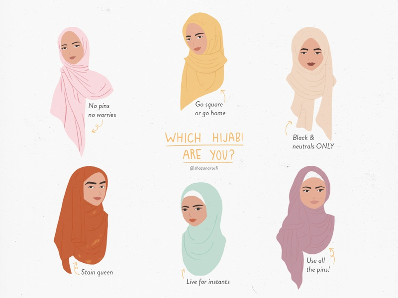 Which Hijabi Are You?