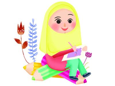 Saya Dan Warna - Icon for Children's Magazine