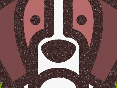 St. Bernard V.4 animal illustration perro dog logo saint bernard cachorro dogs texture geometric badge illustration thick lines lines wildlife ecosystem earth life preserve kingdom nature animal
