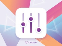 Settings App Icon - Origami