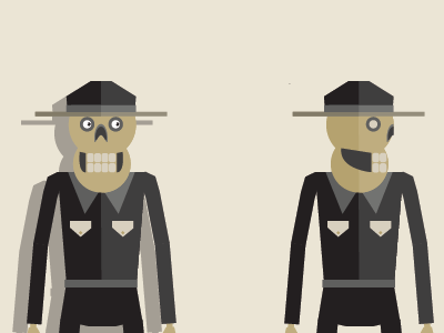 Skelly Sprites vector illustration animation