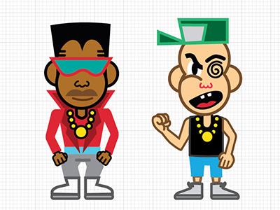 ill kids vector illustration animation