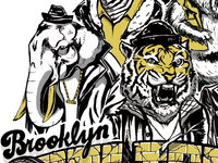 Brooklyn Zooligans Poster