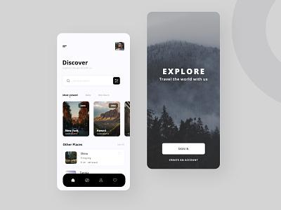 Travel App Design aviation flight design uidesign travel agency travel app traveling travel trave app design app web ux ui