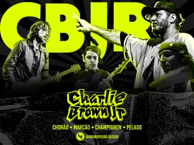 Flyer Charlie Brown Jr - Photoshop Study graphic design charlie brown jr flyer design photoshop