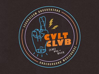 Cvlt Clvb branding logo design cvlt clvb