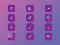 App Icon Concept 001 logo design iconography vector illustrator app logo design icon design icon set concept branding app logo app logo icon