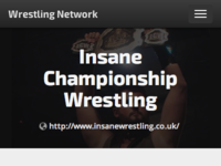 Wrestling Network mobile view