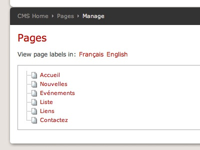Multilingual CMS multilingual cms ui design internationalization