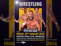 Main Event Wrestling poster
