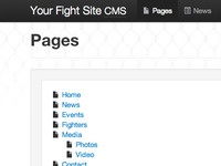 Your Fight Site CMS v3